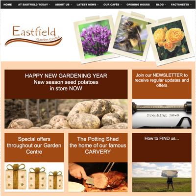 WSA Websites for Garden centres